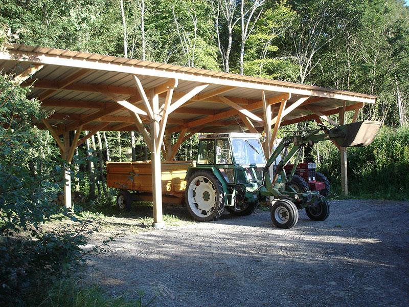 Construction bois loreh - Construction hangar bois ...