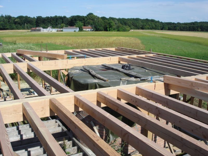 Construction bois loreh for Construction plancher bois etage